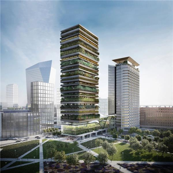 SBA新作  DS R与博埃里建筑设计事务所公布米兰Pirellino摩天大楼更新方案