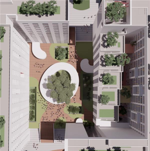 嘉兴职业技术与学院公寓综合楼设计方案_3552559