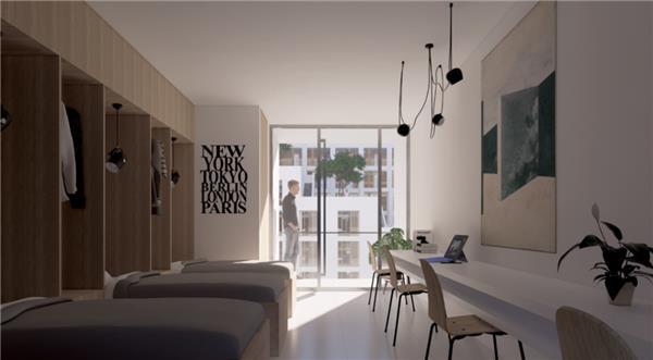 嘉兴职业技术与学院公寓综合楼设计方案