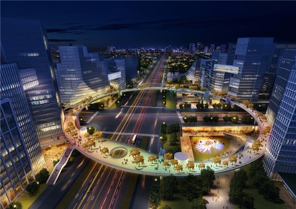 壹东设计作品  杭州 · 钱塘新区未来社区