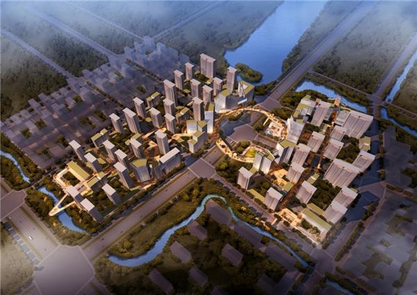 壹东设计作品  杭州 · 钱塘新区未来社区_3553277