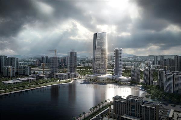10 Design 设计的华发国际商务中心塑造珠海天际线