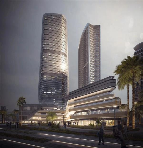 10 Design 设计的华发国际商务中心塑造珠海天际线_3553377
