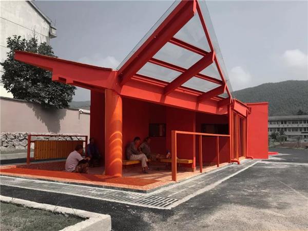 郦文曦建筑设计  新作   地平线上的红色音符_3554998