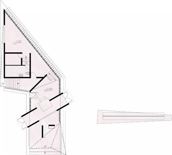 郦文曦建筑设计  新作 | 地平线上的红色音符