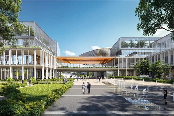 知名建筑设计媒体报道 10 Design 的鹏城实验室石壁龙园区一期