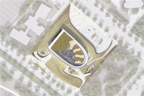 10 Design 揭晓韩国松岛国际图书馆竞赛方案,设计充满未来感的图书馆_3565136