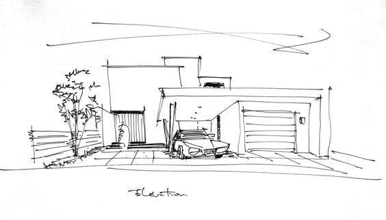 房屋设计草图