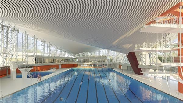 阿尔斯特游泳馆改扩建