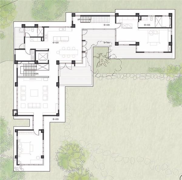多层山地住宅建筑设计:台灣新竹縣山居˙三居/案例