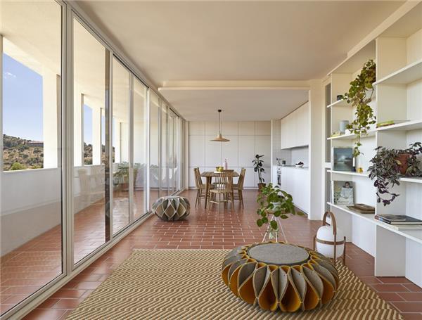 Belvedere山谷住宅,西班牙