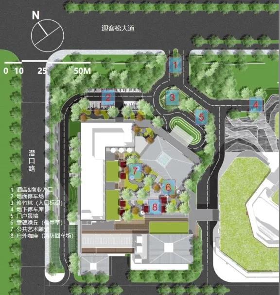 山海逸林,拾翠寻徽:黄山山海凯悦嘉轩酒店景观设计