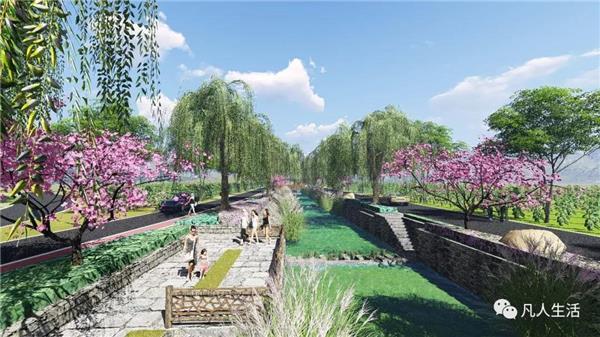 云南省大理市弥渡县密祉镇文盛街村美丽乡村建设景观设计方案