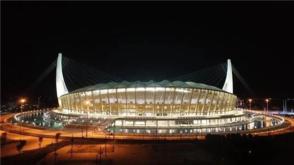 """中国建筑助力中柬""""友谊之船""""起航,柬埔寨国家体育场竣工验收!"""