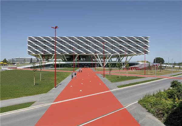 阿迪达斯体育竞技场#公共建筑 #休闲娱乐 #体育场