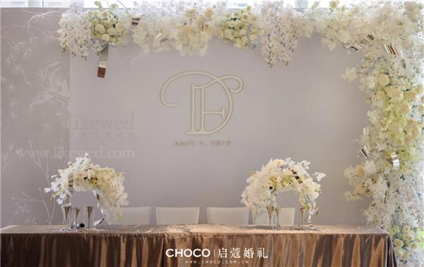 CHOCO-启蔻婚礼,蓝色水晶