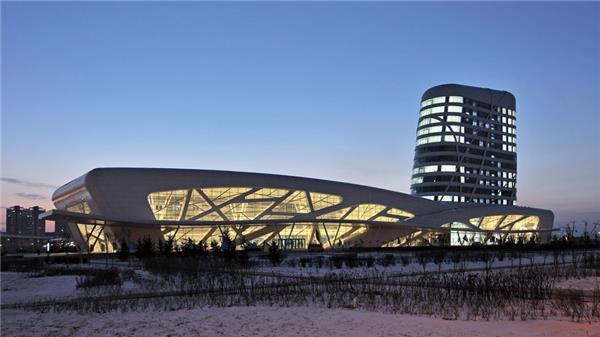 大庆公路客运枢纽站#建筑设计 #公共建筑 #车站建筑