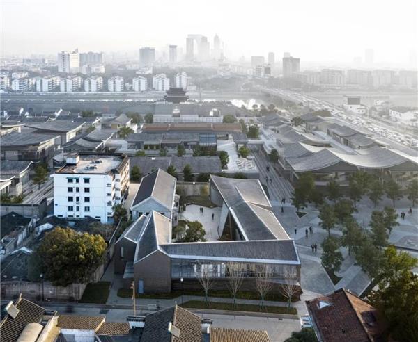"""苏州""""狮子口""""遗址环境保护与扩建 / 日清建筑#苏州 #狮子口 #遗址环境保护"""