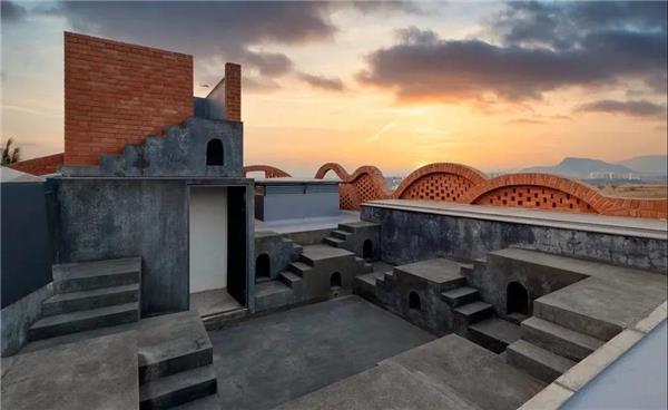 古典优雅 | 创意红砖建筑·3款#红砖 #红砖建筑 #西班牙古建改造