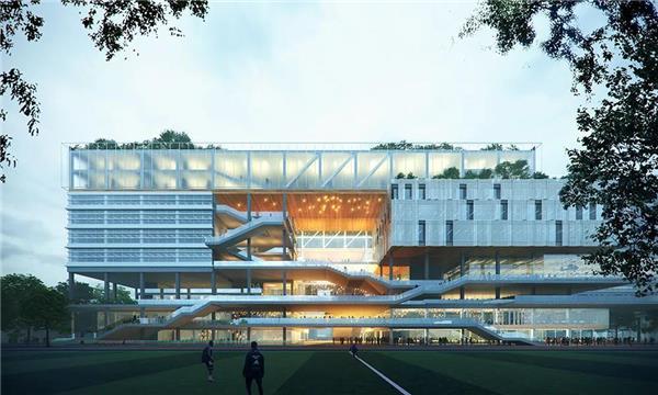 深圳机场教育基地建设项目竞赛获胜作品揭晓!#深圳 #机场教育基地 #教育建筑