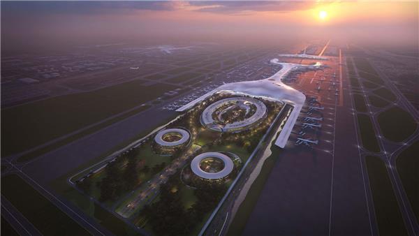 广州白云国际机场三期扩建竞赛方案#机场 #广州机场 #广州白云机场