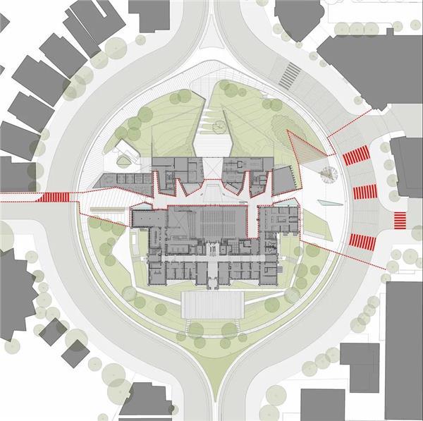 加拿大多伦多大学 Daniels 建筑系馆