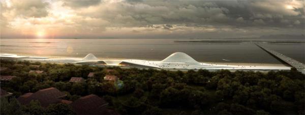 烟台开发区规划展览馆方案