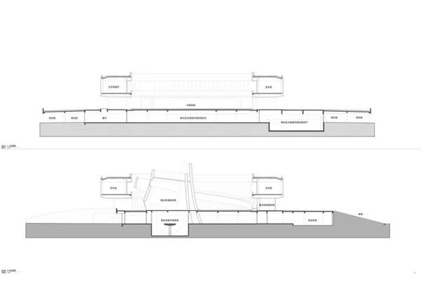 宁波市奉化规划展览馆:漂浮的螺旋