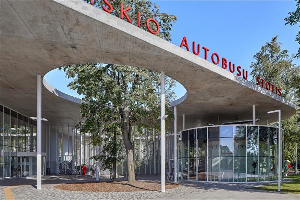 立陶宛Vilkavi?kis汽车站#建筑设计 #公共建筑 #车站建筑