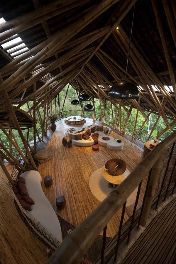 """印度尼西亚夏尔马""""叶子""""小屋建筑设计"""