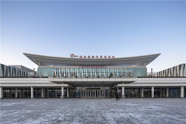 大鸾翔宇 – 淮安东站综合客运枢纽室内设计#建筑设计 #公共建筑 #车站建筑