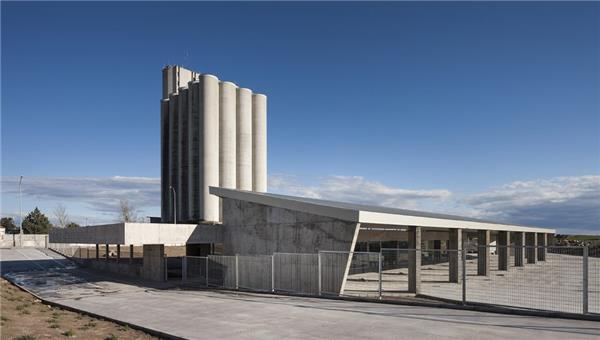 Trujillo公共汽车站#建筑设计 #公共建筑 #车站建筑
