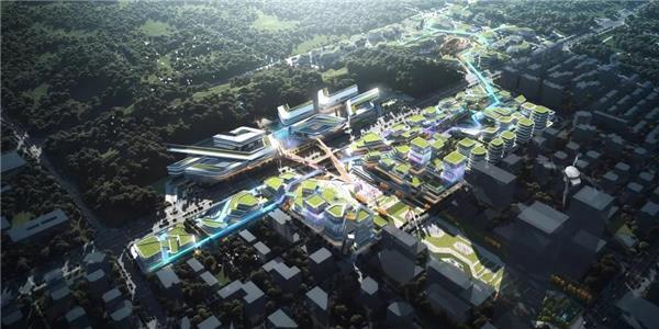 BIAD | Hyperlink City超链城市——西部科学城微电子科创街设计#电子科创街 #科创街 #产业规划