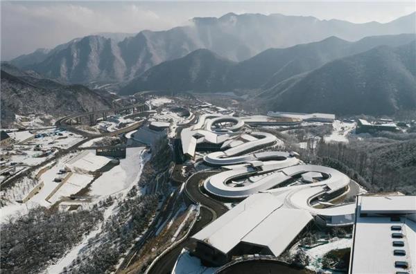 中国院作品 | 国家雪车雪橇中心#场馆平面图 #雪车中心 #雪橇中心