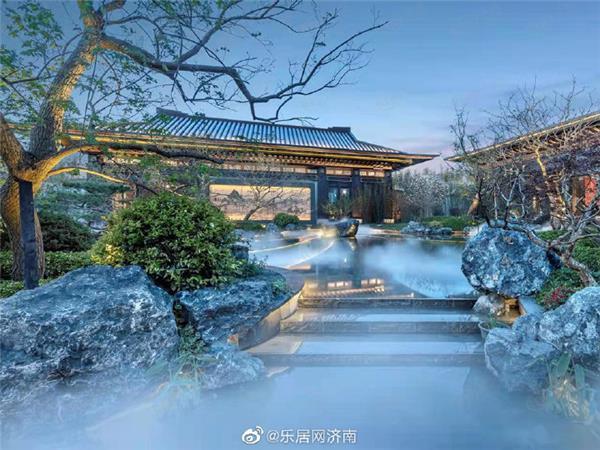 长清济南建发玺园,建面127-195㎡#新中式 #新中式景观 #济南