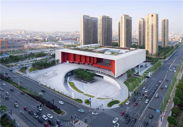 义乌市文化广场—— 8万多平方米的,集文化娱乐、教育培训、体育健身等多功能的大型文化综合体#文化广场 #广场 #综合体