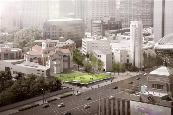 首尔文化广场竞赛获胜者公布#文化广场 #韩国 #首尔