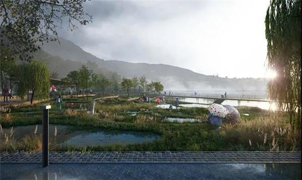 挪威卑尔根的新海滩公园设计#公园设计 #沙滩公园设计 #海滩公园