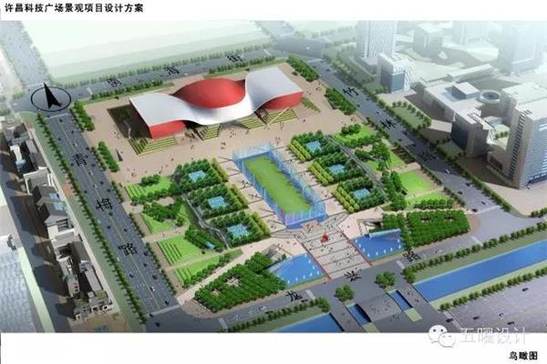 许昌科技广场景观设计#科技广场 #科技广场景观 #科技广场设计