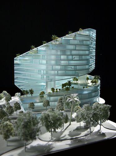 表现力强的建筑模型