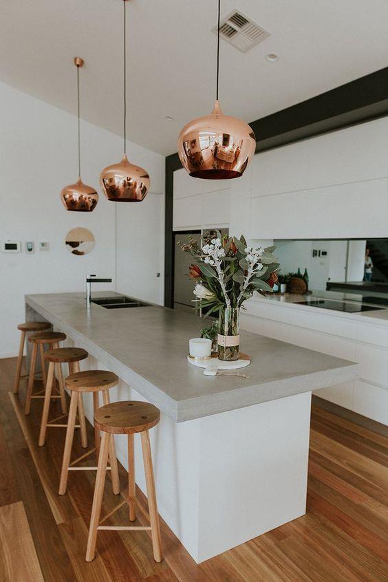 现代厨房装饰设计#厨房 #装修 #室内设计