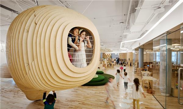 美国纽约WeGrow学校-建筑设计_415135