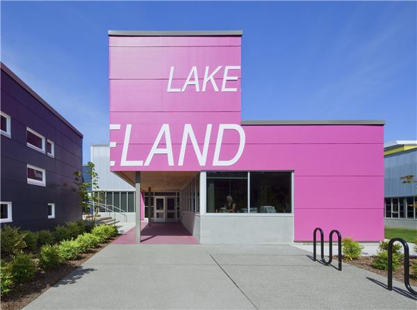 美国华盛顿州奥本市 Lakeland小学-建筑设计_415136