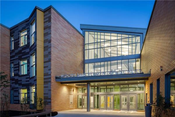 Woodland小学-建筑设计_415420