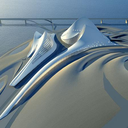 Cultural Centre and Opera House in Dubai-建筑设计_415694