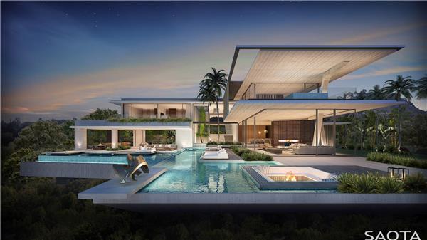 豪宅设计:Bellagio   SAOTA