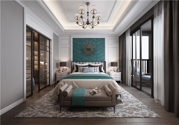 199个装修风格各异的大型卧室设计灵感_417668