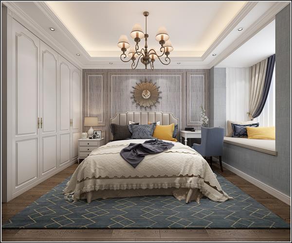 199个装修风格各异的大型卧室设计灵感_417670