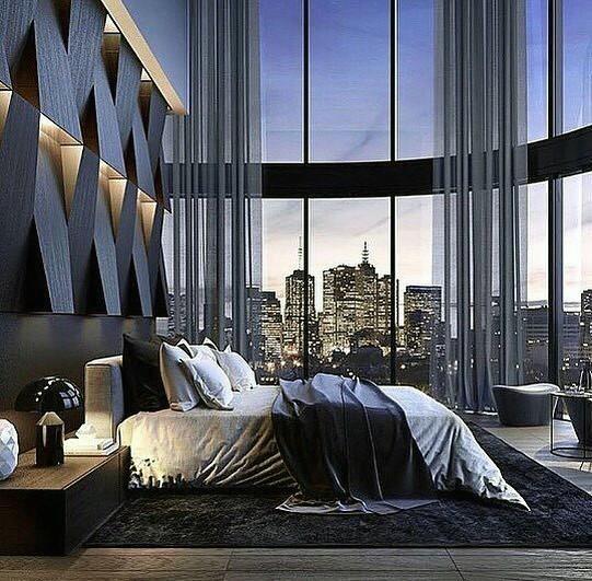 199个装修风格各异的大型卧室设计灵感_421218