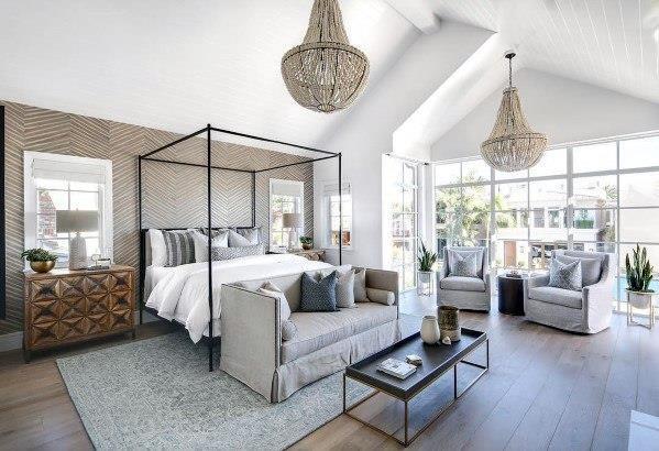 199个装修风格各异的大型卧室设计灵感_421224